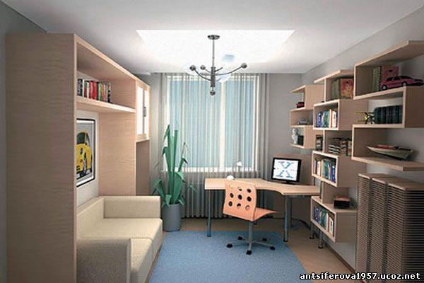 Дизайн комнаты для первоклассника
